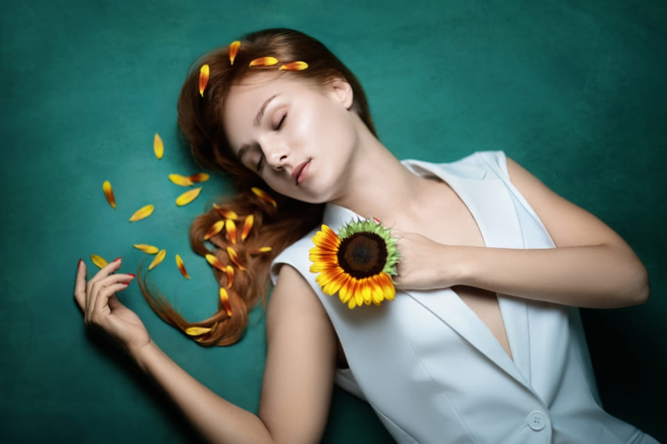 ויקטוריה – חמניות - ויקטוריה מנשירוב - סטודיו לצילום