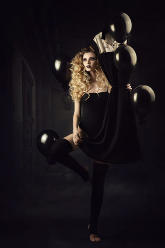 אווה – בלונים - ויקטוריה מנשירוב - סטודיו לצילום