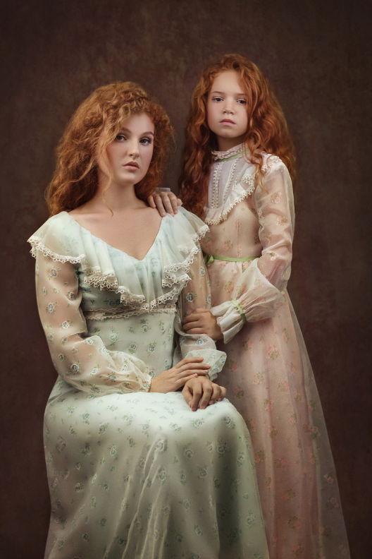 אלונה ומאיה - ויקטוריה מנשירוב - סטודיו לצילום