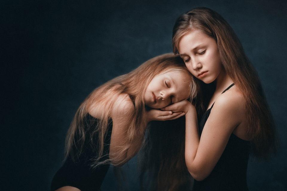 סטפני ומאיה - ויקטוריה מנשירוב - סטודיו לצילום