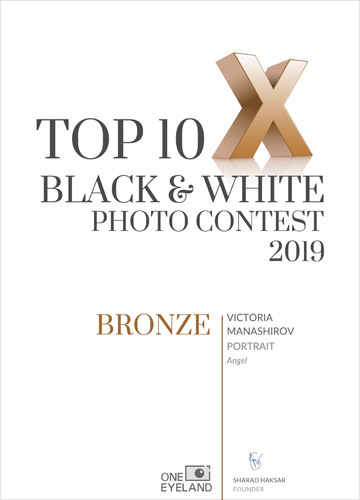 Bronze Award - Portrait photography - TOP10